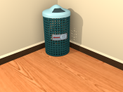Modelling a Trash Can in Blender 2.5